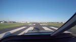 Lognes aerodrome from runway threshold.png