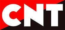 Logo de laConfederación Nacional del Trabajo.