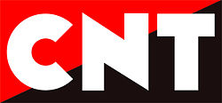 Logotipo de la CNT.
