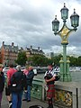 London - Folklore on Westminster Bridge - panoramio.jpg