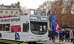 London December 4 2018 (15) Leave Means Leave's 'Save Brexit' Bus at Parliament (46179759541).jpg