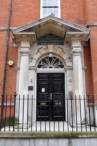 London School of Medicine for Women - London School of Medicine for Women, Hunter Street.