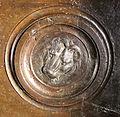 Lorenzo ghiberti e aiuti, porta nord del battistero di firenze, retro con teste leonine, 05.JPG