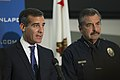 Los Angeles Mayor Eric Garcetti and LAPD Chief Charlie Beck.jpg