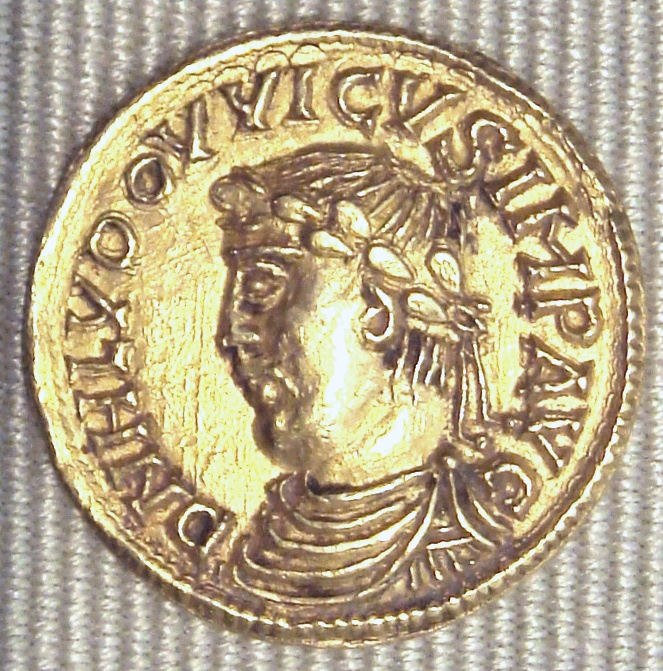 Louis le Pieux sesquisolidus 814 840