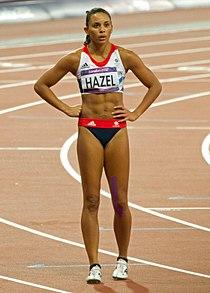 Louise Hazel-Heptathlon-200m (8460116786).jpg