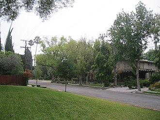 Lower Arroyo Seco Historic District - Homes on La Loma Road in the district