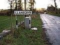 Lower road into Llanegryn - geograph.org.uk - 306216.jpg