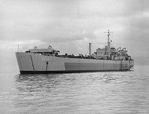 HMAS Lae (L3035) - Image: Lst (3) 3035 FL7209