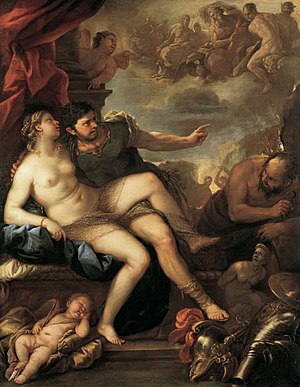 Luca Giordano - Venus and Mars