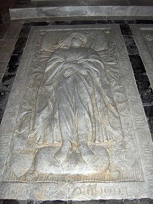 Jacopo della Quercia - Tomb effigy of Lorenzo Trenta.