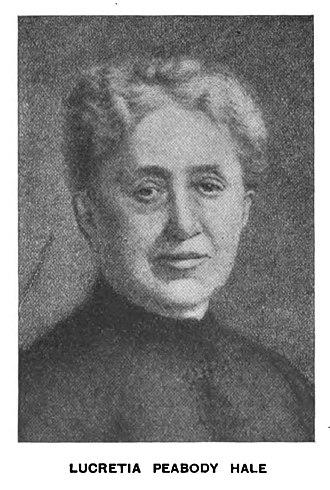 Lucretia Peabody Hale - ca. 1900