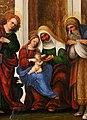 Ludovico mazzolino, madonna col bambino e santi, 1522-23 ca. 04.jpg