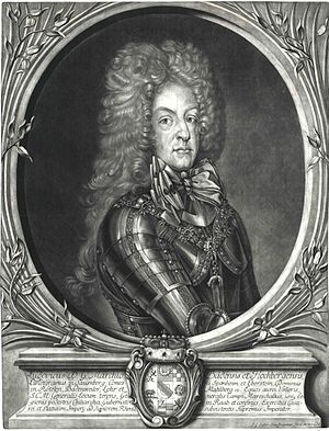 Siege of Landau (1702) - Margrave Louis of Baden