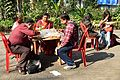 Lunch - Bengali Wikipedia 10th Anniversary Celebration - Jadavpur University - Kolkata 2015-01-10 3344.JPG
