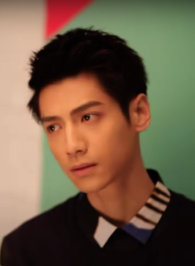 Luo Yunxi modeling for C China in 2015.png