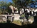 Lycée de Saint-Just de Lyon - Jardins ouest - Vue sur l'église Saint-Just des Macchabées.jpg