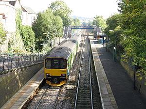 Lye, West Midlands - Lye railway station in 2008
