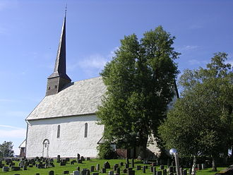Steinkjer - The medieval Mære church