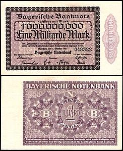 München 1 Milliarde 1923.jpg