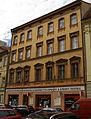 Měšťanský dům U koží (Staré Město), Praha 1, Dlouhá 27, Staré Město.JPG