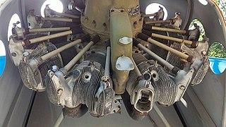 Vedeneyev M14P Aircraft engine
