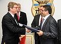 M. Rafik Abdessalem, reçoit son homologue Allemand, Guido Westerwelle. (6667048475).jpg