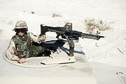 M60 machine gun DA-ST-92-07295