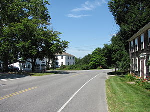 Massachusetts Route 110 - Northbound in Still River