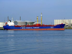 MCT Almak p2 at the Calland canal, Port of Rotterdam, Holland 20-May-2007.jpg