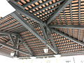MC 澳門 Macau Tour 官也街 Rua do Cunha Oct-2013 ZR2 Old Taipa Market ceiling.JPG