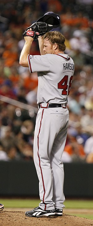 2012 Atlanta Braves season - Tommy Hanson made his first Opening Day start in 2012, taking the loss in a 0–1 defeat to the Mets.