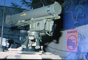 MILAN - MILAN launcher mounted on French Army VBL