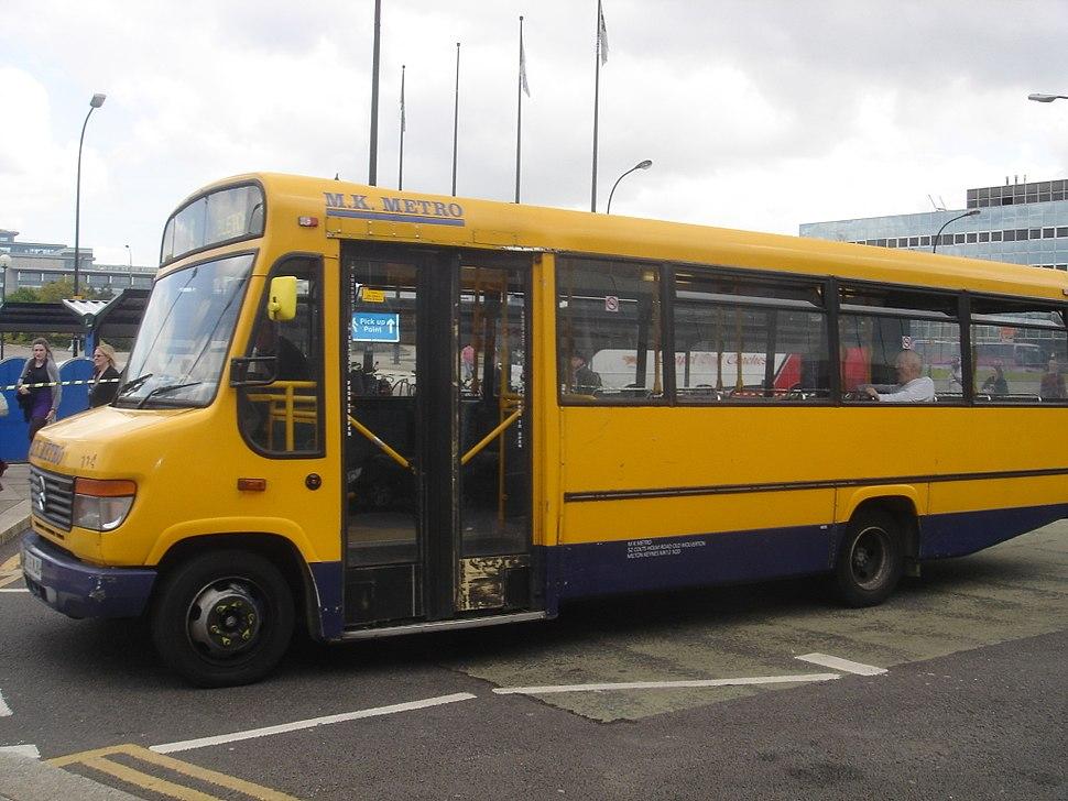 MK Metro bus, 2 May 2009