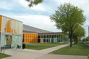 McCormick Tribune Campus Center - McCormick Tribune Campus Center, from the northwest
