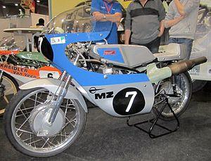 MZ Motorrad- und Zweiradwerk - MZ RE 125 of 1972