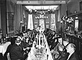 Maastricht, diner B&W in restaurant Alsace, 1960.jpg