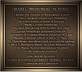 Mabel Memorial Plaque.jpg