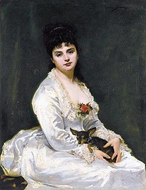 Carolus-Duran - Image: Madame Henry Fouquier, by Carolus Duran