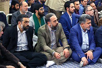 Dhikr - A group of Iranian Maddahs/Dhakirs, in a gathering