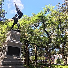 Squares of Savannah, Georgia - Wikipedia