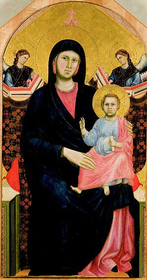 San Giorgio alla Costa - Giotto, San Giorgio alla Costa Virgin and Child