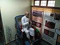 Mahatma Gandhi at State museum, Shimla.jpg