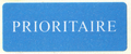 Mail label of Česká Pošta - Prioritaire.png