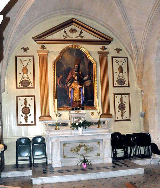 Maillane, Seitenaltar in der Kirche