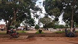 Main square of Rurópolis, Pará, 2018.jpg
