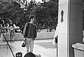 Making an AIDS memorial quilt panel on behalf of Associated Students, Inc. (ASI) Fresno State 1994 (23431491041).jpg