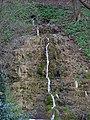 Malá Chuchle, vodopád pod rybníkem.jpg