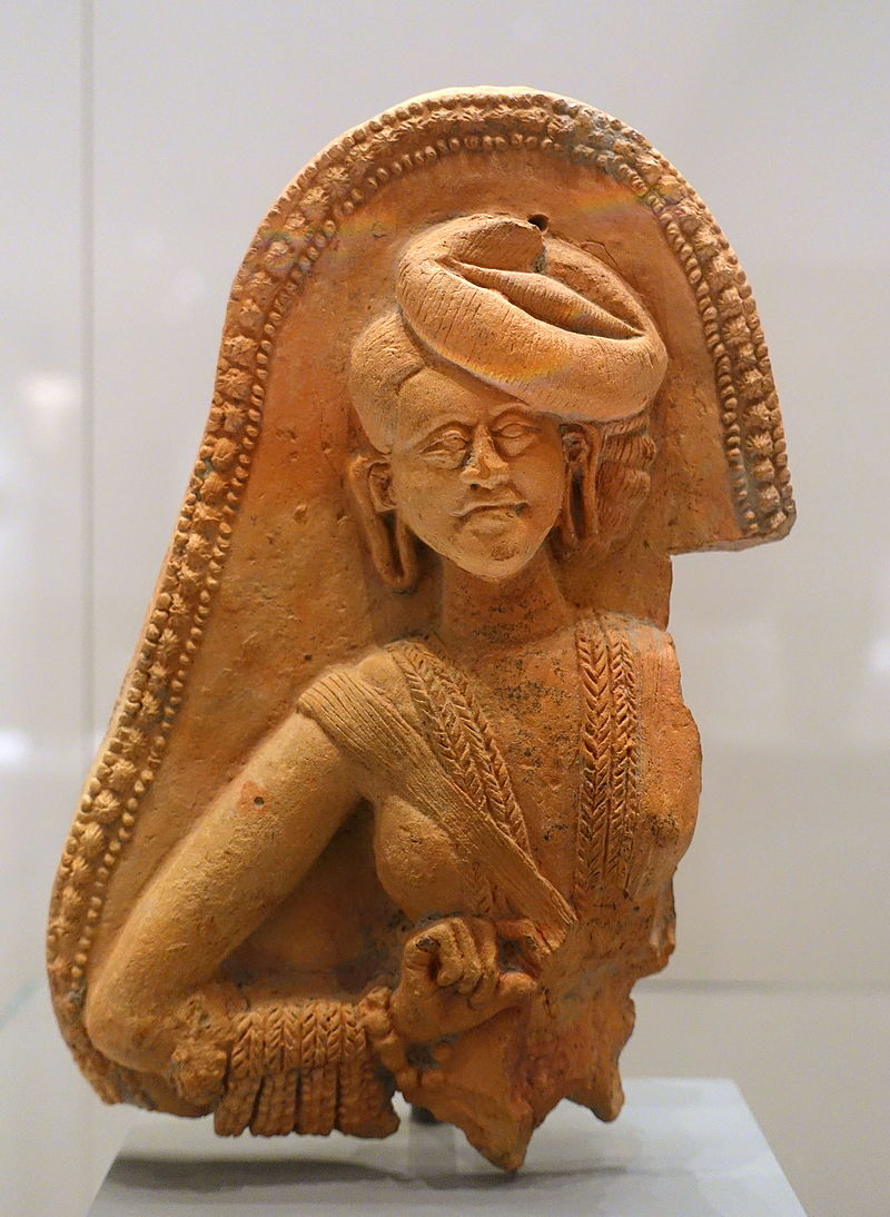 Male figure, Chandraketugarh, India, 2nd-1st century BC, terracotta - Ethnological Museum, Berlin - DSC01682.JPG