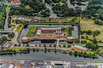 Malmö Castle - Image of the fortress taken from above in 2011.
